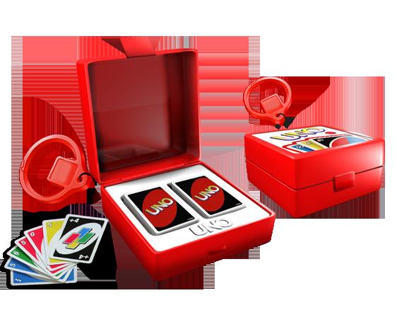 Hasbro Mini Keychain Games - UNO  816b0c4ac0a7